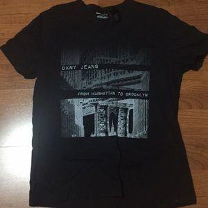 Large DKNY t- shirt.